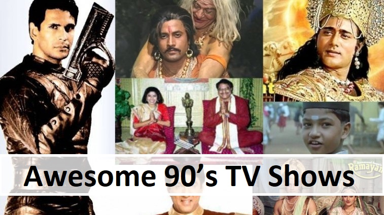 Awesome 90s TV Shows
