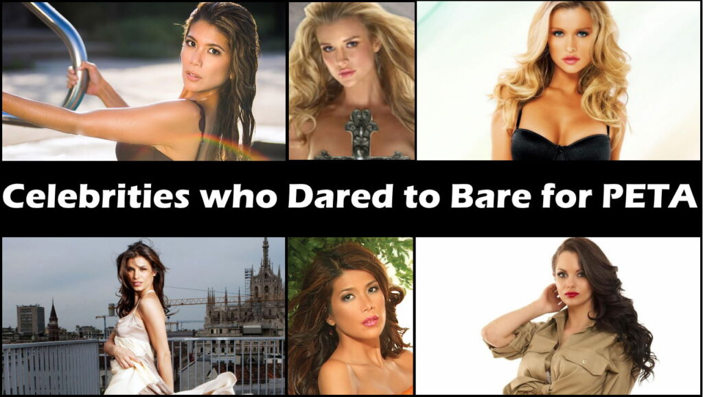 Celebrities who Dared to Bare for PETA